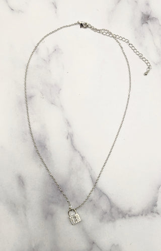 Let Me In Necklace - Silver
