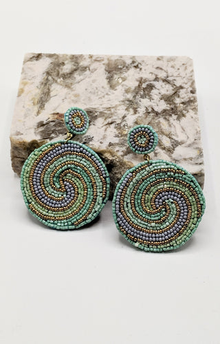 It's Our Destiny Earrings - Mint