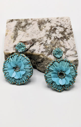 All Good Days Earrings - Mint