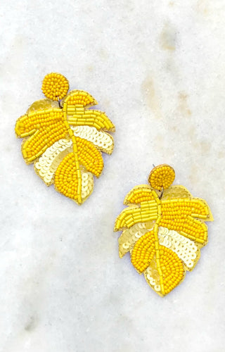 Working Wonders Earrings - Yellow