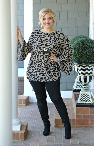 Stay True Leopard Print Top