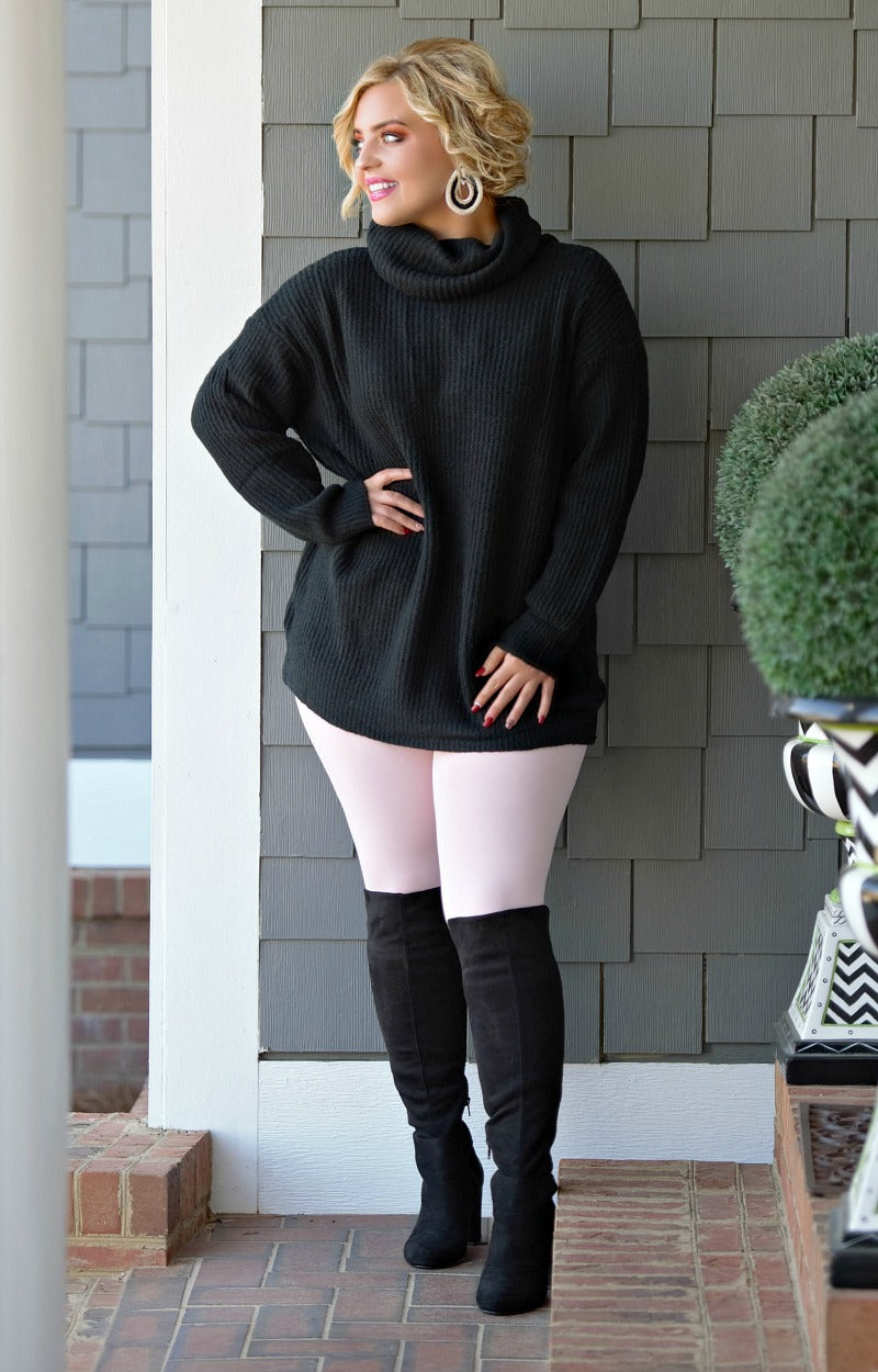 No Bad Days Sweater - Black
