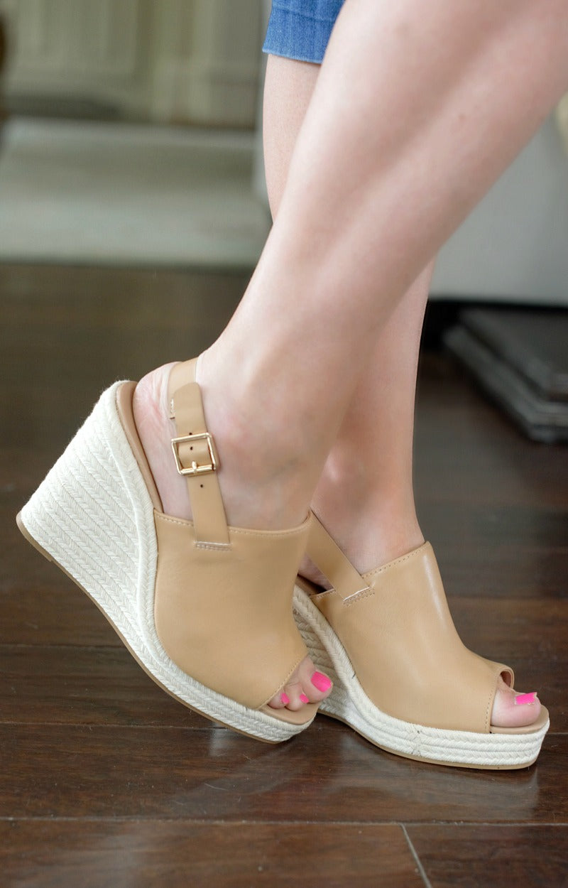 Best Of It Wedges - Tan