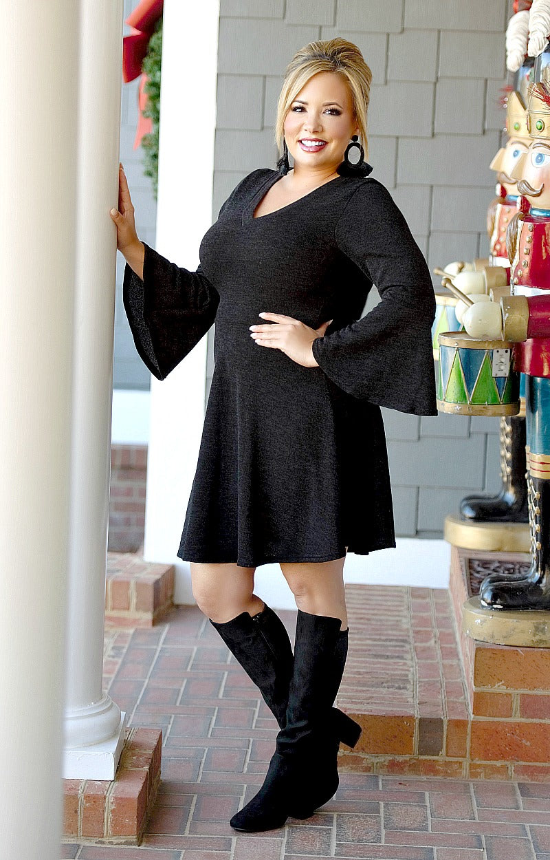 Load image into Gallery viewer, So Picky Dress - Black