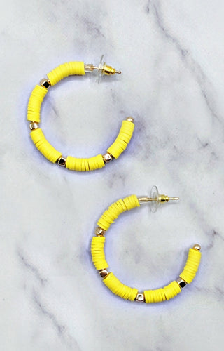 Sweet With You Earrings - Yellow