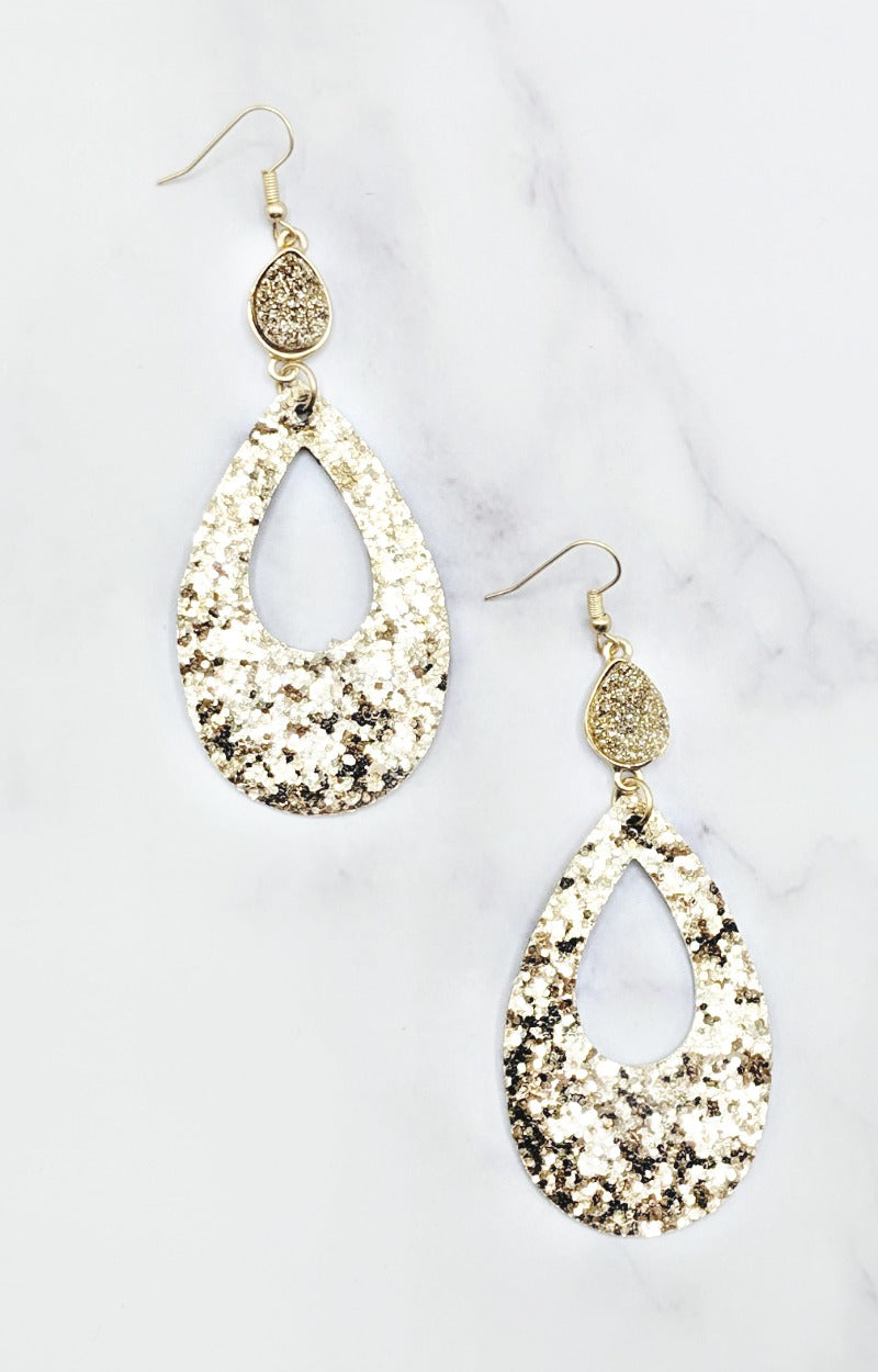 Load image into Gallery viewer, Sparkle & Shine Earrings - Gold