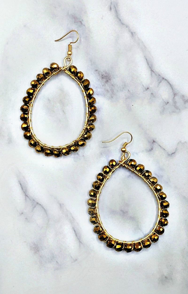 Load image into Gallery viewer, Tell You Everything Earrings - Gold