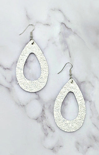 Have You Wishing Earrings - White