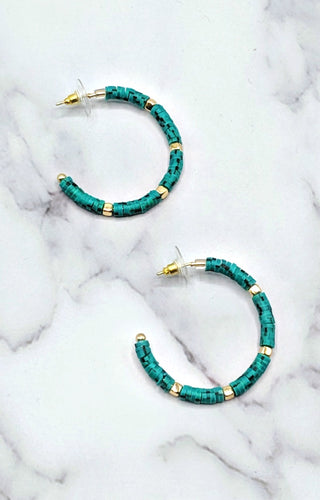 Sweet With You Earrings - Turquoise