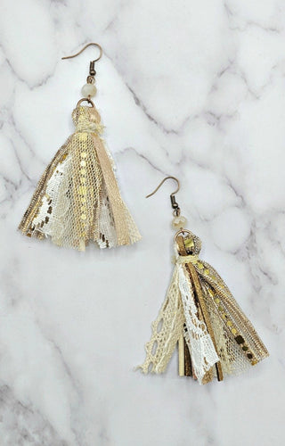 Just What You Want Earrings - Gold