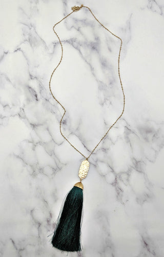 From This Moment Necklace - Teal