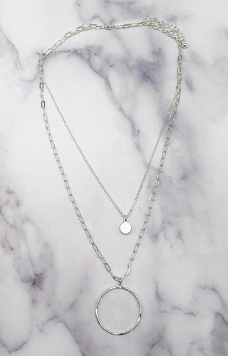Can't Hide It Necklace - Silver