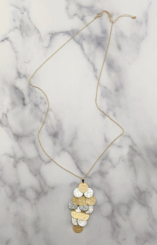 Near & Dear Necklace - White/Gold