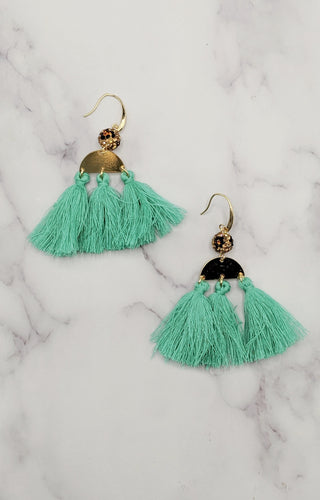 On Easy Street Earrings - Turquoise