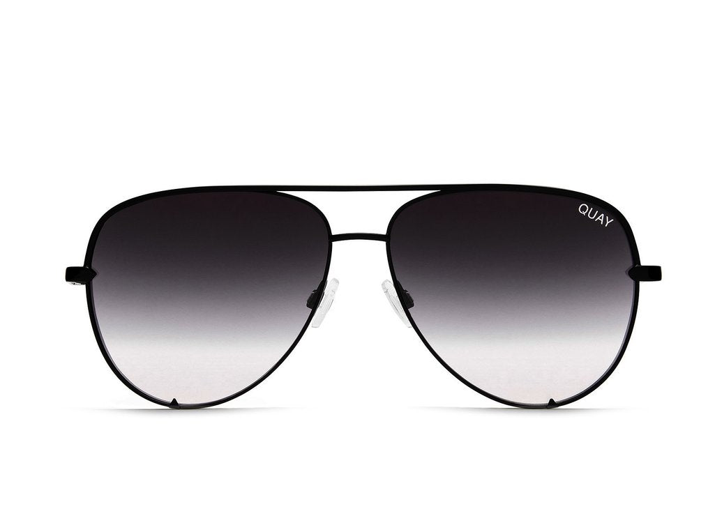 Load image into Gallery viewer, Quay Australia - High Key Black Fade Sunglasses