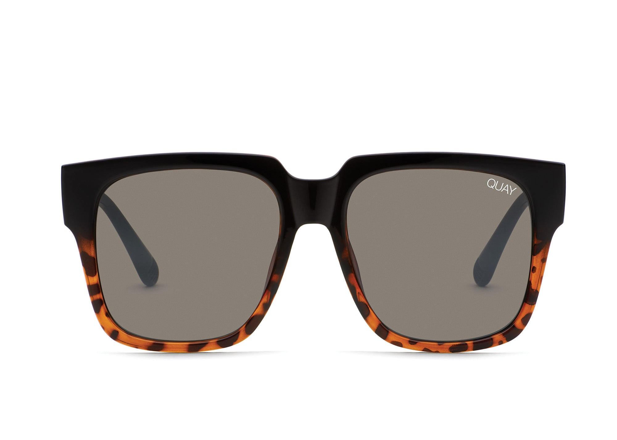 Load image into Gallery viewer, Quay Australia - On The Prowl Tortoise/Smoke Sunglasses