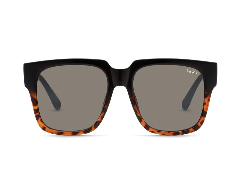 Quay Australia - On The Prowl Tortoise/Smoke Sunglasses