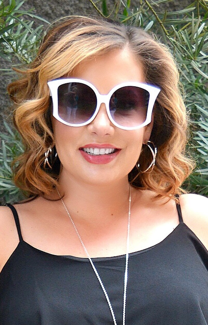 Party Girl Sunglasses - White