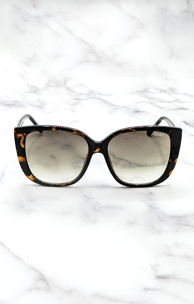 Load image into Gallery viewer, Quay Australia - Ever After Tortoise/Smoke Sunglasses
