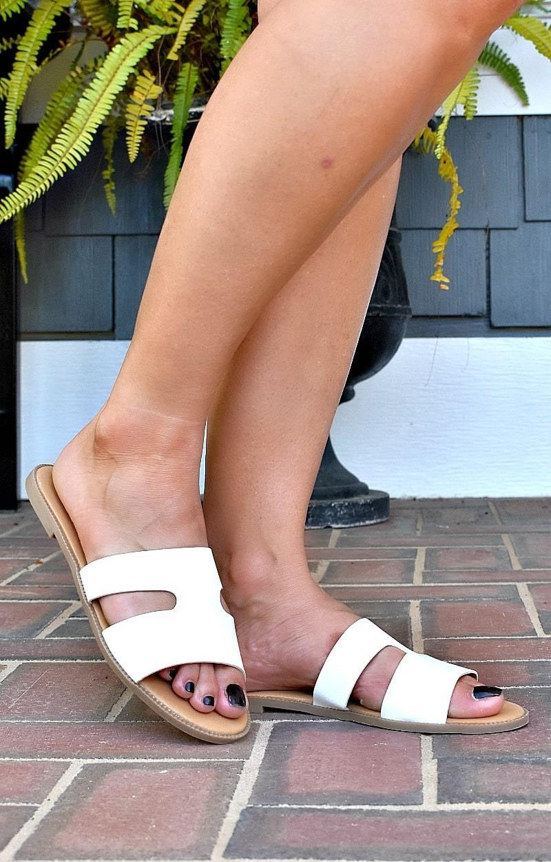 Load image into Gallery viewer, My Turn Sandals - White