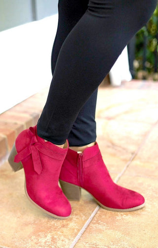 Keep It Together Booties - Red