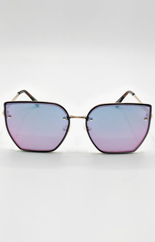Quay Australia - Around The Way Rose/Pink Sunglasses