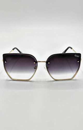 Quay Australia - Around The Way Gold/Fade Sunglasses