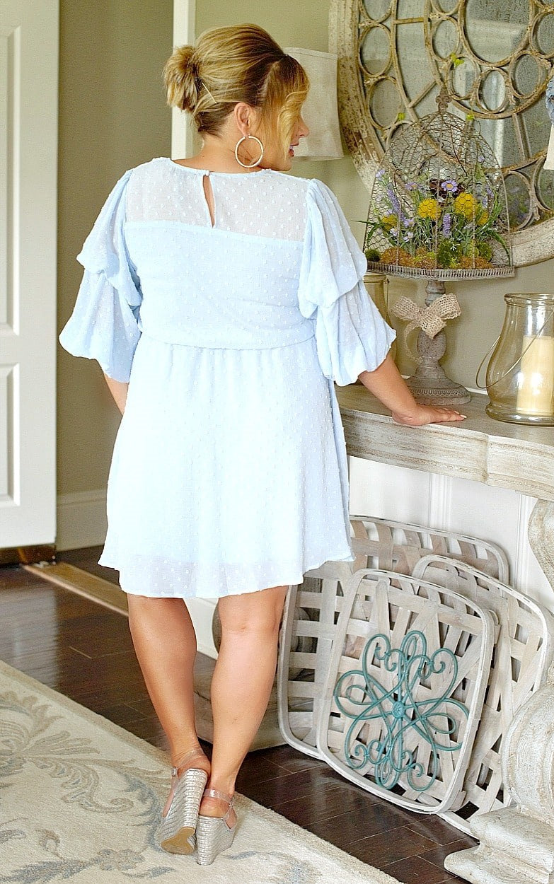 Simply Southern Dress - Sky Blue