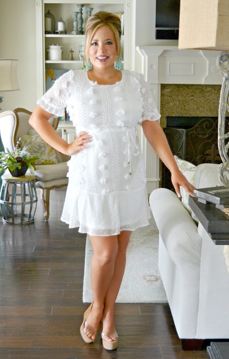 How I Like It Dress - Ivory