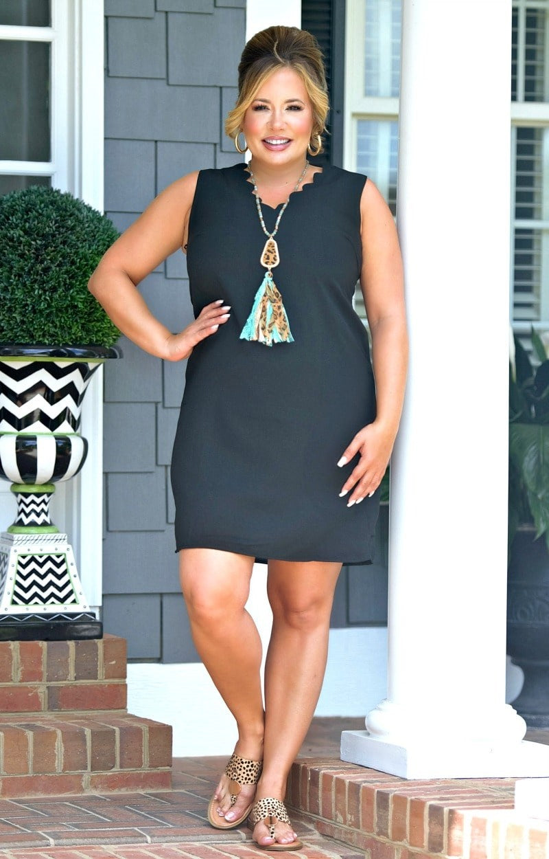 Love To Laugh Dress - Black