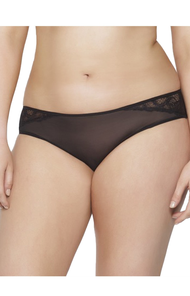 The Lou Lou Cheeky Hipster Panty - Black