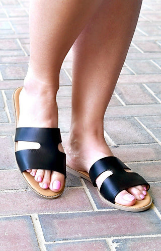 My Turn Sandals - Black