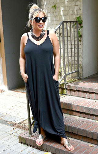 Simple Moments Maxi Dress - Black