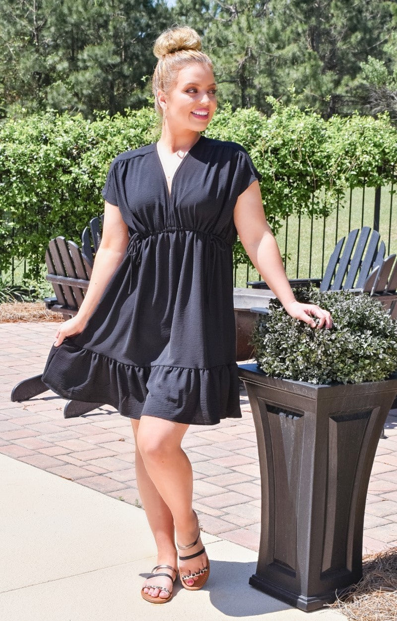Load image into Gallery viewer, Say It Again Dress - Black