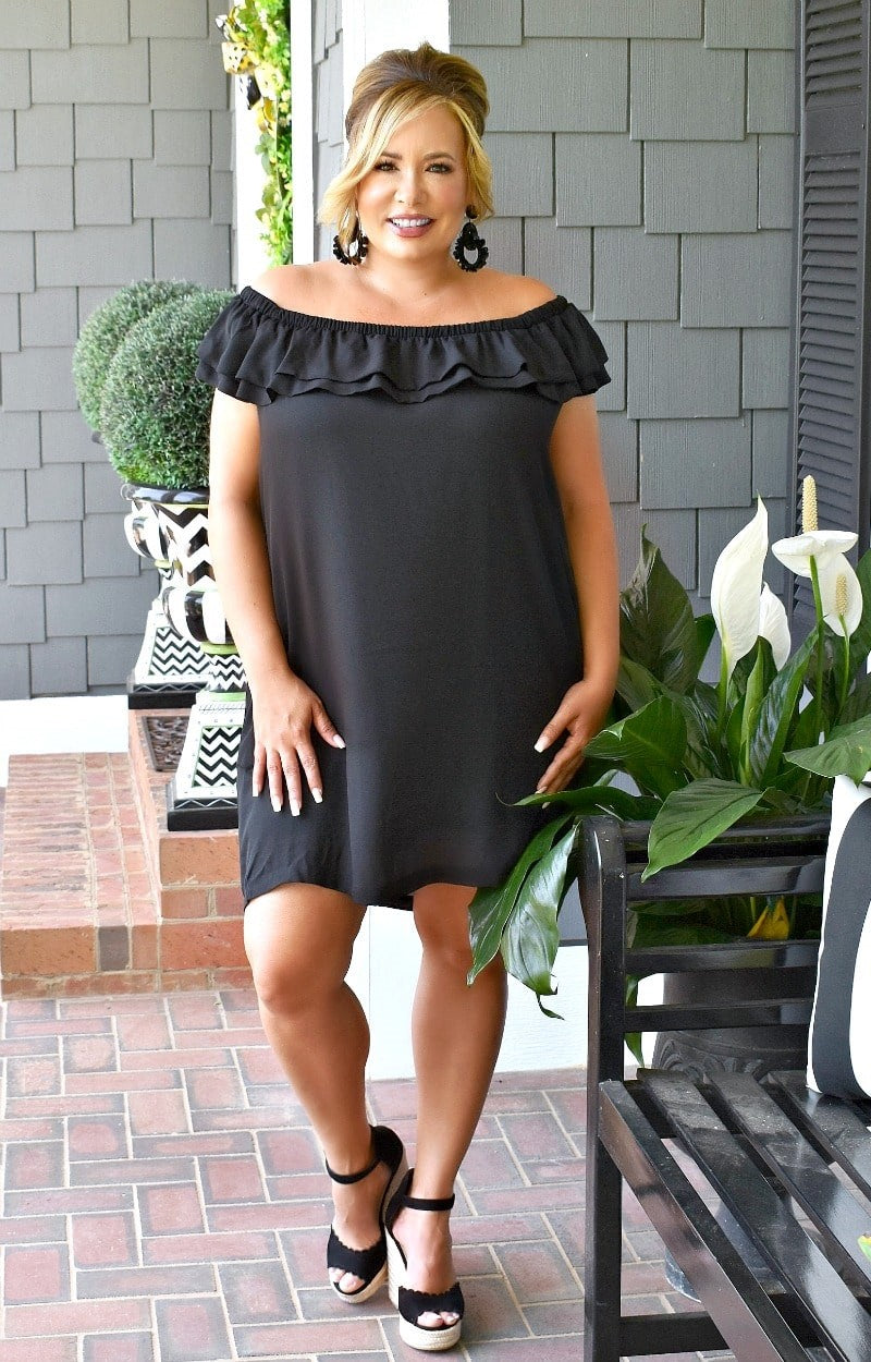 Load image into Gallery viewer, Love Lives Here Dress - Black