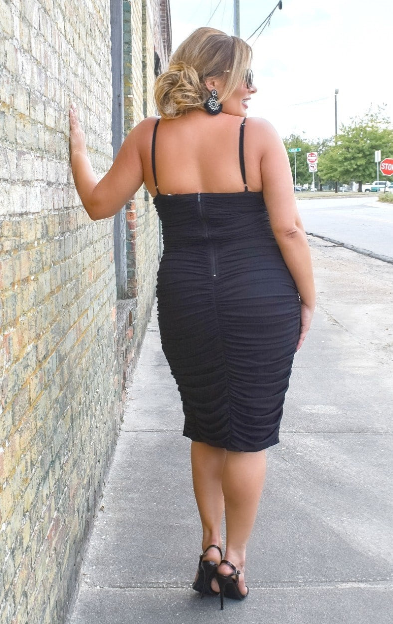 Load image into Gallery viewer, Live A Little Dress - Black
