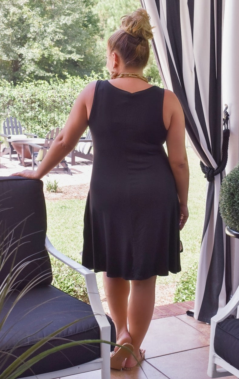 Load image into Gallery viewer, Three Day Weekend Dress - Black