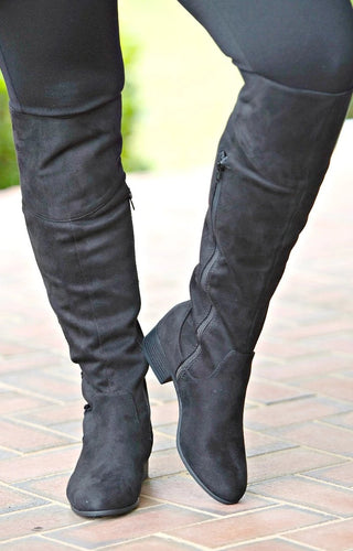 Just Can't Wait Boots - Black