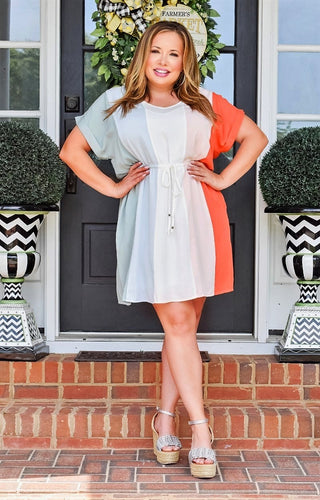 Word Of Advice Dress - Multi