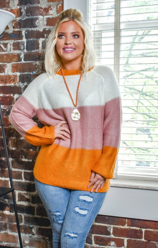 Have You Near Colorblock Sweater