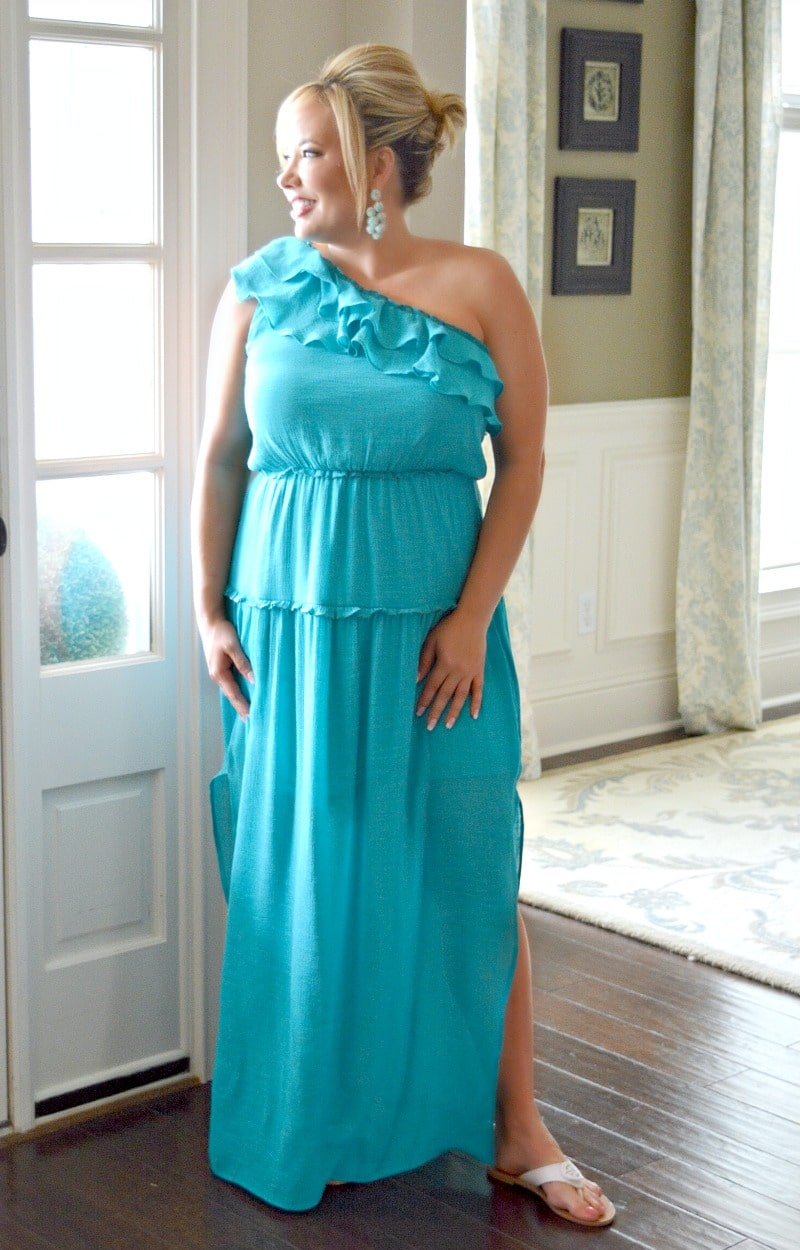 Load image into Gallery viewer, After Party Maxi Dress - Teal
