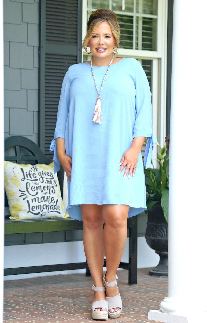 Load image into Gallery viewer, Run The World Dress - Chambray
