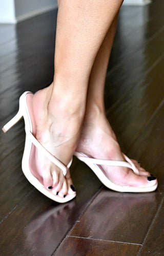 Simple Pleasures Heels - Blush