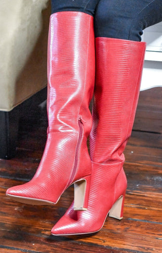 CHINESE LAUNDRY - Evanna Boot - Red