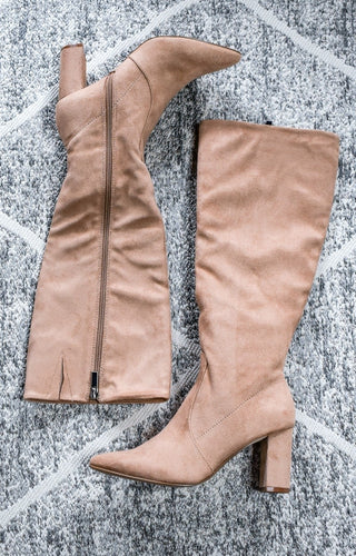 Looking My Best Boots - Taupe