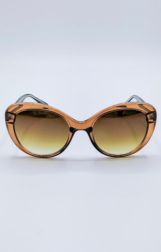 Sudden Desire Sunglasses - Brown/Gold