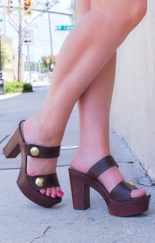 Hello Lovely Heels - Brown