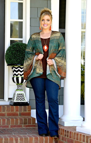 Not An Issue Cardigan - Multi