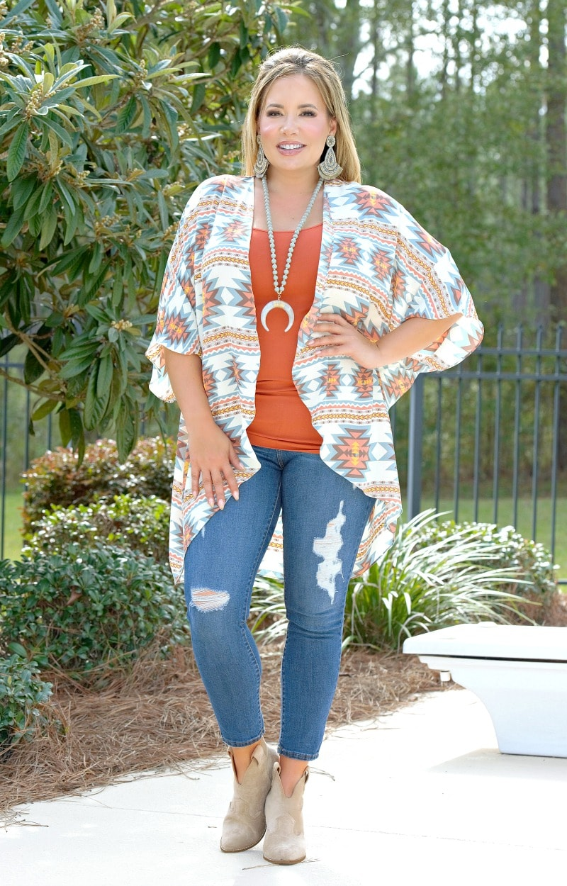 Not Fooling Around Print Cardigan - Multi