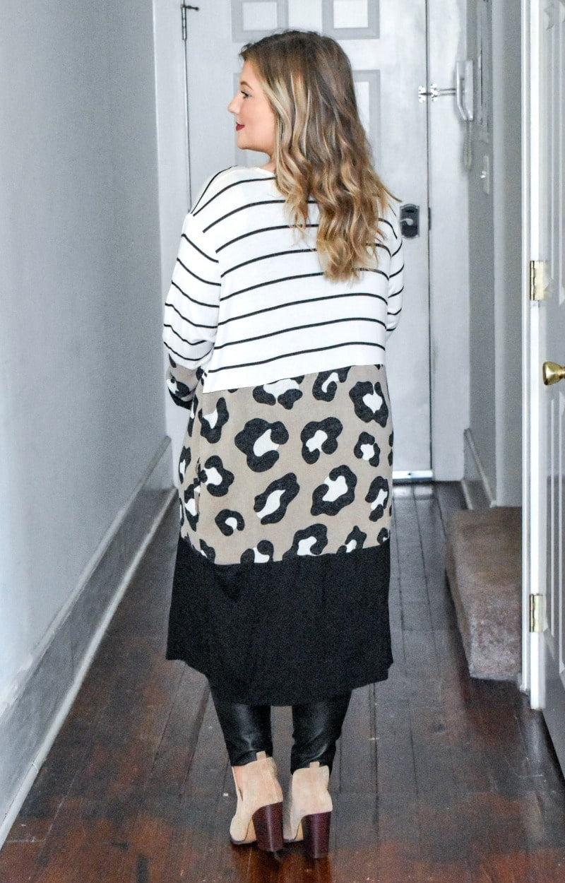 Load image into Gallery viewer, Sugar & Spice Print Cardigan